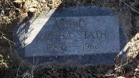 STATH, ZILPHA - Yavapai County, Arizona | ZILPHA STATH - Arizona Gravestone Photos