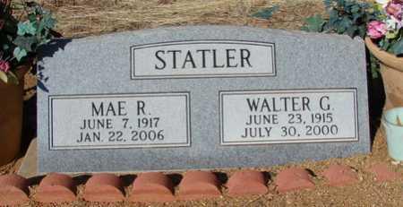 STATLER, WALTER G. - Yavapai County, Arizona | WALTER G. STATLER - Arizona Gravestone Photos