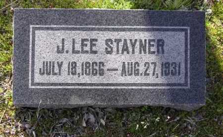 STAYNER, J. LEE - Yavapai County, Arizona   J. LEE STAYNER - Arizona Gravestone Photos