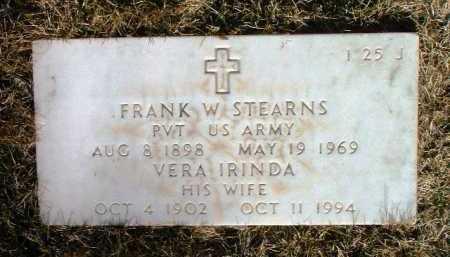 STEARNS, FRANK WILLIS - Yavapai County, Arizona | FRANK WILLIS STEARNS - Arizona Gravestone Photos