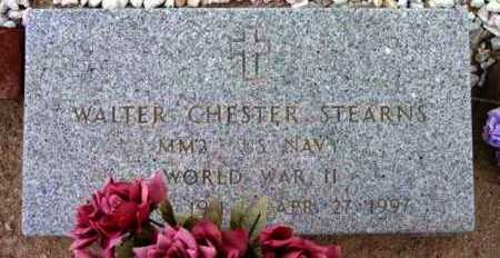 STEARNS, WALTER CHESTER - Yavapai County, Arizona | WALTER CHESTER STEARNS - Arizona Gravestone Photos