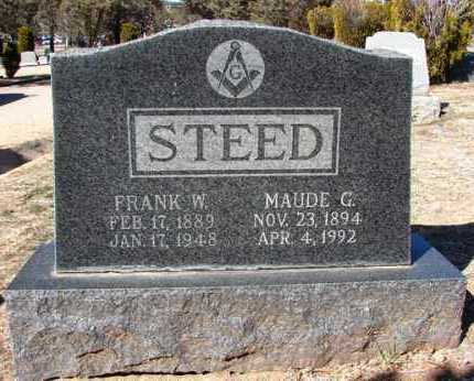 STEED, FRANK WINFIELD - Yavapai County, Arizona | FRANK WINFIELD STEED - Arizona Gravestone Photos