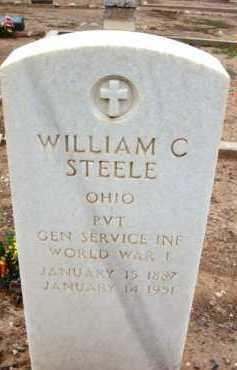 STEEL, WILLIAM C. - Yavapai County, Arizona | WILLIAM C. STEEL - Arizona Gravestone Photos
