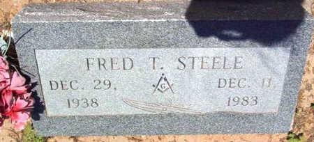 STEELE, FRED T. - Yavapai County, Arizona | FRED T. STEELE - Arizona Gravestone Photos