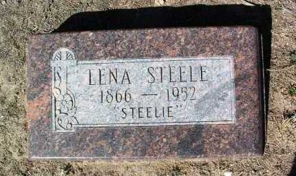 STEELE, LENA (STEELIE) - Yavapai County, Arizona | LENA (STEELIE) STEELE - Arizona Gravestone Photos