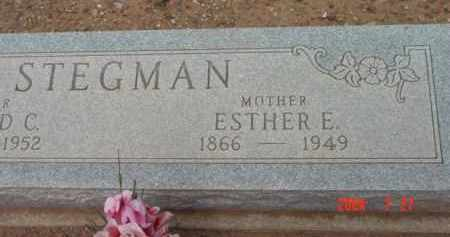 LYNN STEGMAN, ESTHER ELIZA - Yavapai County, Arizona | ESTHER ELIZA LYNN STEGMAN - Arizona Gravestone Photos