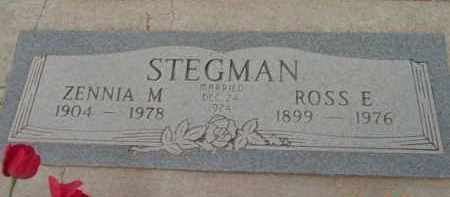 STEGMAN, ROSS EDGAR - Yavapai County, Arizona | ROSS EDGAR STEGMAN - Arizona Gravestone Photos