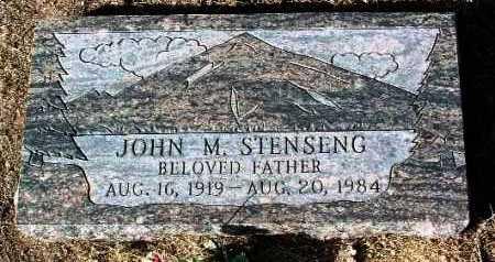 STENSENG, JOHN M. - Yavapai County, Arizona | JOHN M. STENSENG - Arizona Gravestone Photos