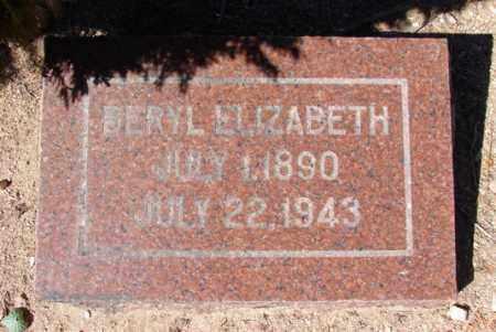 STEPHENS, BERYL ELIZABETH - Yavapai County, Arizona | BERYL ELIZABETH STEPHENS - Arizona Gravestone Photos
