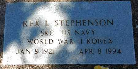STEPHENSON, REX L - Yavapai County, Arizona | REX L STEPHENSON - Arizona Gravestone Photos