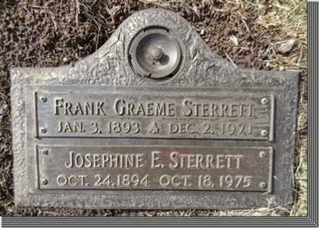 STERRETT, FRANK GRAEME - Yavapai County, Arizona | FRANK GRAEME STERRETT - Arizona Gravestone Photos