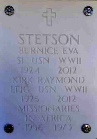 STETSON, BURNICE EVA - Yavapai County, Arizona | BURNICE EVA STETSON - Arizona Gravestone Photos