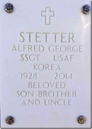 STETTER, ALFRED GEORGE - Yavapai County, Arizona | ALFRED GEORGE STETTER - Arizona Gravestone Photos