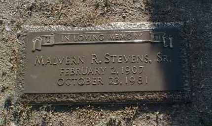 STEVENS, MALVERN ROBERT - Yavapai County, Arizona | MALVERN ROBERT STEVENS - Arizona Gravestone Photos