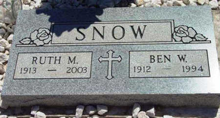 STEVENS SNOW, RUTH M. - Yavapai County, Arizona | RUTH M. STEVENS SNOW - Arizona Gravestone Photos