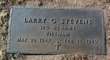 STEVENS, LARRY GALE - Yavapai County, Arizona | LARRY GALE STEVENS - Arizona Gravestone Photos