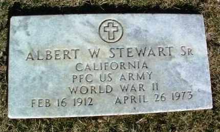 STEWART, ALBERT W., SR. - Yavapai County, Arizona | ALBERT W., SR. STEWART - Arizona Gravestone Photos