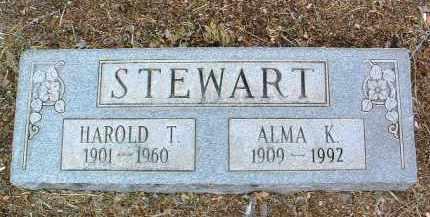 STEWART, HAROLD T. - Yavapai County, Arizona | HAROLD T. STEWART - Arizona Gravestone Photos