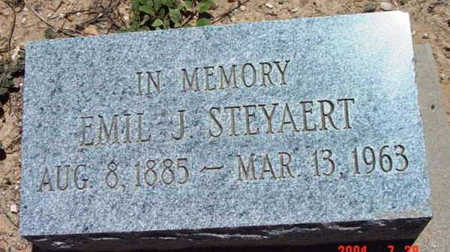 STEYAERT, EMIL J. - Yavapai County, Arizona | EMIL J. STEYAERT - Arizona Gravestone Photos