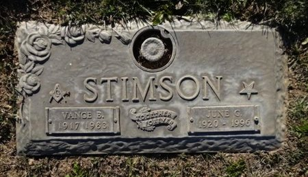 STIMSON, JUNE GWENDOLYN - Yavapai County, Arizona | JUNE GWENDOLYN STIMSON - Arizona Gravestone Photos