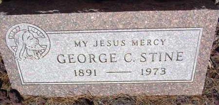 STINE, GEORGE C. - Yavapai County, Arizona   GEORGE C. STINE - Arizona Gravestone Photos