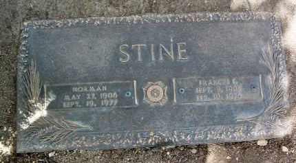 STINE, NORMAN RENAULDO - Yavapai County, Arizona | NORMAN RENAULDO STINE - Arizona Gravestone Photos