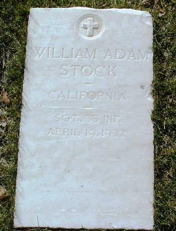 STOCK, WILLIAM  ADAM - Yavapai County, Arizona   WILLIAM  ADAM STOCK - Arizona Gravestone Photos