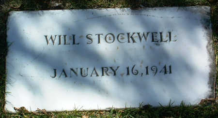 STOCKWELL, WILL - Yavapai County, Arizona | WILL STOCKWELL - Arizona Gravestone Photos