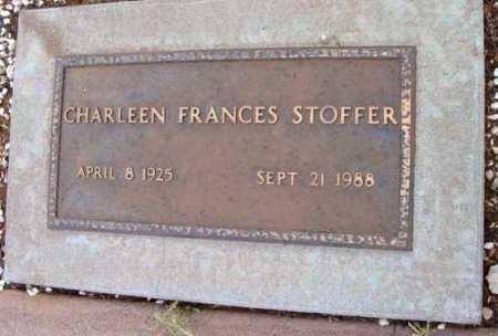 STOFFER, CHARLEEN FRANCES - Yavapai County, Arizona | CHARLEEN FRANCES STOFFER - Arizona Gravestone Photos