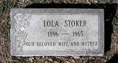 STOKER, LOLA MYRTLE - Yavapai County, Arizona | LOLA MYRTLE STOKER - Arizona Gravestone Photos