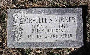 STOKER, ORVILLE ALBERT - Yavapai County, Arizona | ORVILLE ALBERT STOKER - Arizona Gravestone Photos