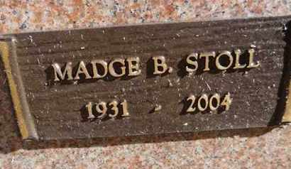 STOLL, MADGE B. - Yavapai County, Arizona | MADGE B. STOLL - Arizona Gravestone Photos