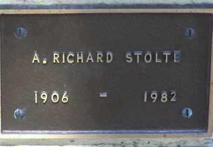 STOLTE, ADOLPH RICHARD - Yavapai County, Arizona   ADOLPH RICHARD STOLTE - Arizona Gravestone Photos