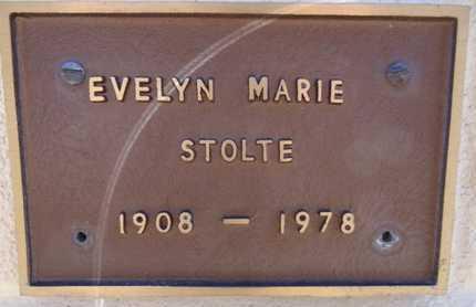 STOLTE, EVELYN MARIE - Yavapai County, Arizona   EVELYN MARIE STOLTE - Arizona Gravestone Photos