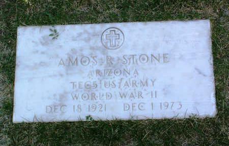 STONE, AMOS R. - Yavapai County, Arizona | AMOS R. STONE - Arizona Gravestone Photos