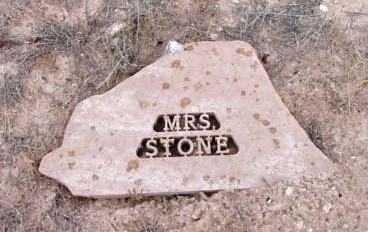 STONE, MRS. - Yavapai County, Arizona   MRS. STONE - Arizona Gravestone Photos