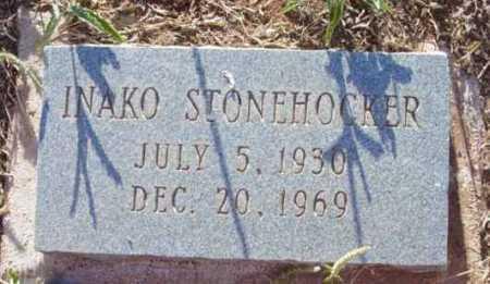 STONEHOCKER, INAKO - Yavapai County, Arizona   INAKO STONEHOCKER - Arizona Gravestone Photos