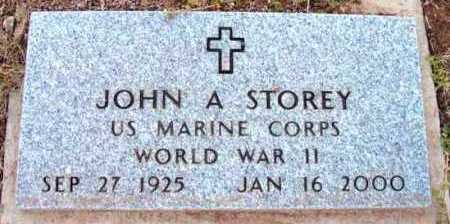 STOREY, JOHN A. - Yavapai County, Arizona   JOHN A. STOREY - Arizona Gravestone Photos