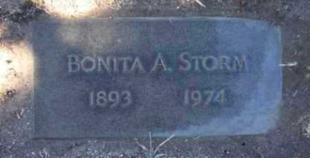 STORM, BONITA AGNES - Yavapai County, Arizona | BONITA AGNES STORM - Arizona Gravestone Photos