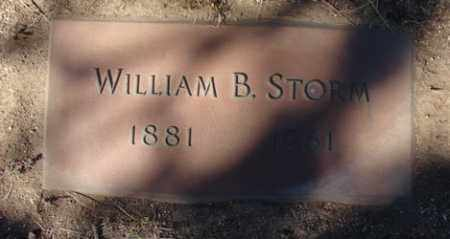 STORM, WILLIAM BUNTON - Yavapai County, Arizona | WILLIAM BUNTON STORM - Arizona Gravestone Photos