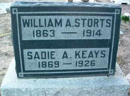 STORTS, WILLIAM A. - Yavapai County, Arizona | WILLIAM A. STORTS - Arizona Gravestone Photos