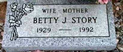 STORY, BETTY J. - Yavapai County, Arizona | BETTY J. STORY - Arizona Gravestone Photos