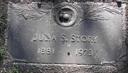 STORY, JULIA SHIRLEY - Yavapai County, Arizona   JULIA SHIRLEY STORY - Arizona Gravestone Photos