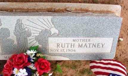 MATNEY STOTTS, RUTH M. - Yavapai County, Arizona | RUTH M. MATNEY STOTTS - Arizona Gravestone Photos