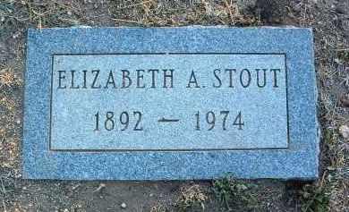 STOUT, ELIZABETH A. - Yavapai County, Arizona | ELIZABETH A. STOUT - Arizona Gravestone Photos