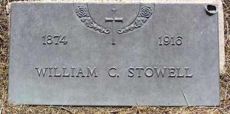 STOWELL, WILLIAM C. - Yavapai County, Arizona | WILLIAM C. STOWELL - Arizona Gravestone Photos