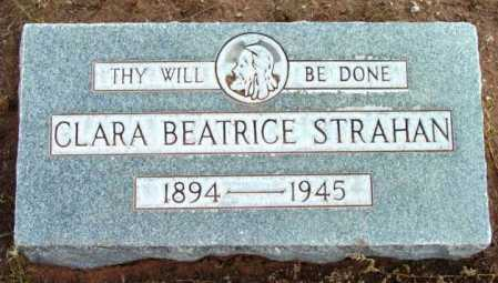 STRAHAN, CLARA BEATRICE - Yavapai County, Arizona   CLARA BEATRICE STRAHAN - Arizona Gravestone Photos