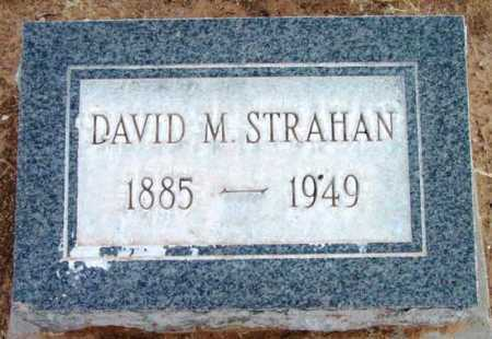 STRAHAN, DAVID M. - Yavapai County, Arizona   DAVID M. STRAHAN - Arizona Gravestone Photos