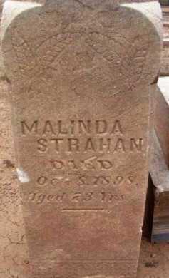 STRAHAN, MALINDA - Yavapai County, Arizona | MALINDA STRAHAN - Arizona Gravestone Photos