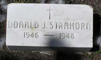 STRAHORN, DONALD J. - Yavapai County, Arizona | DONALD J. STRAHORN - Arizona Gravestone Photos